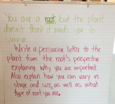 Plant letter prompt